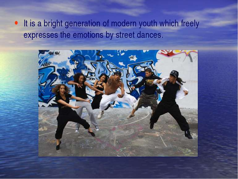 It is a bright generation of modern youth which freely expresses the emotions...