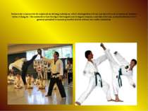 Taekwondo is known for its emphasis on kicking techniques, which distinguishe...