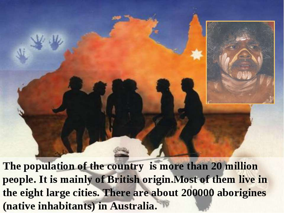 The population of the country is more than 20 million people. It is mainly of...