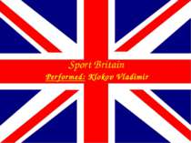 Sport Britain Performed: Klokov Vladimir