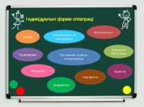 Індивідуальні форми співпраці Бесіди Анкетування та опитування Игротека Практ...