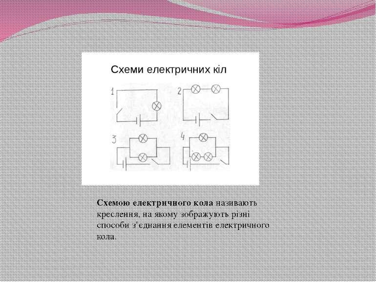 Схемою електричного коланазивають креслення, на якому зображують різні спосо...