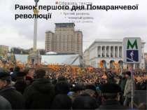 Ранок першого дня Помаранчевої революції