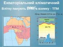 Екваторіальний кліматичний пояс Нігер, Ніамей (13°пн. ш.; 2°зх. ш.) с б т л в...