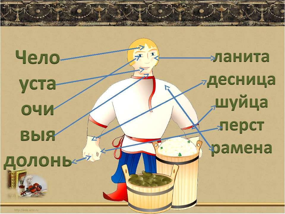 Презентация по русскому языку на тему: устаревшие слова (6 класс)