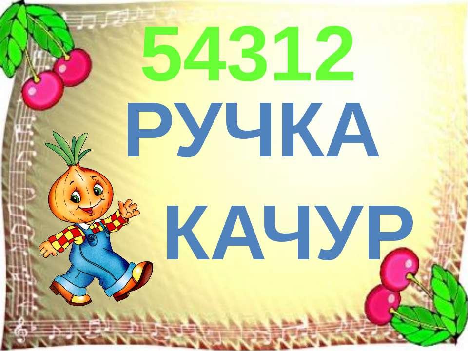 РУЧКА КАЧУР 54312