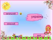загальний власний далі україна