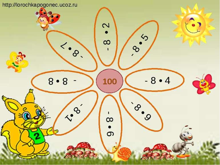 100 - 8 • 5 - 8 • 2 - 8 • 4 - 8 • 7 - 8 •1 - 8 • 9 - 8 • 8 - 8 • 6 http://lor...