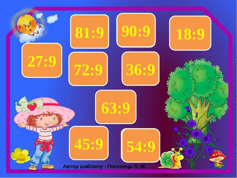 3 27:9 7 63:9 4 36:9 9 81:9 6 54:9 5 45:9 2 18:9 8 72:9 10 90:9 Автор шаблону...