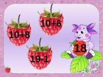 18 10+8 10+6 19-1