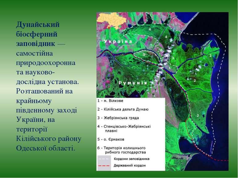 Дунайський біосферний заповідник — самостійна природоохоронна та науково-досл...