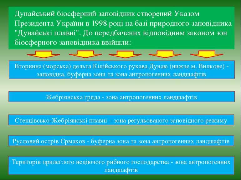 Дунайський біосферний заповідник створений Указом Президента України в 1998 р...