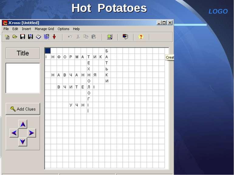 Hot Potatoes LOGO