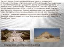 Внутрішня конструкція пірамід За конструкцією Єгипетські піраміди можна поділ...