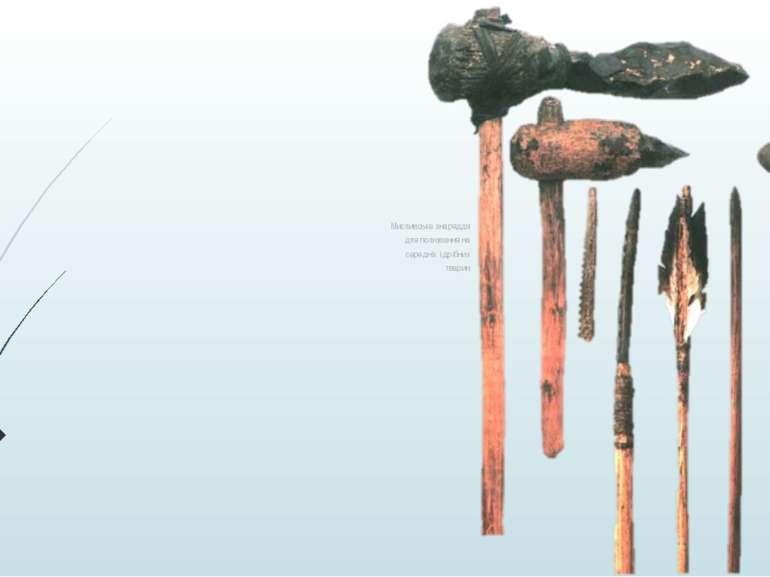 Мисливське знаряддя для полювання на середніх і дрібних тварин