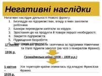 Негативні наслідки діяльності Нового фронту: Безладдя на підприємствах, владу...