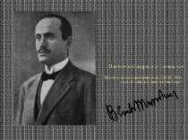 Муссолінів якостідиректораAvanti!(1912-1914), газетаІталійськоїсоціаліс...