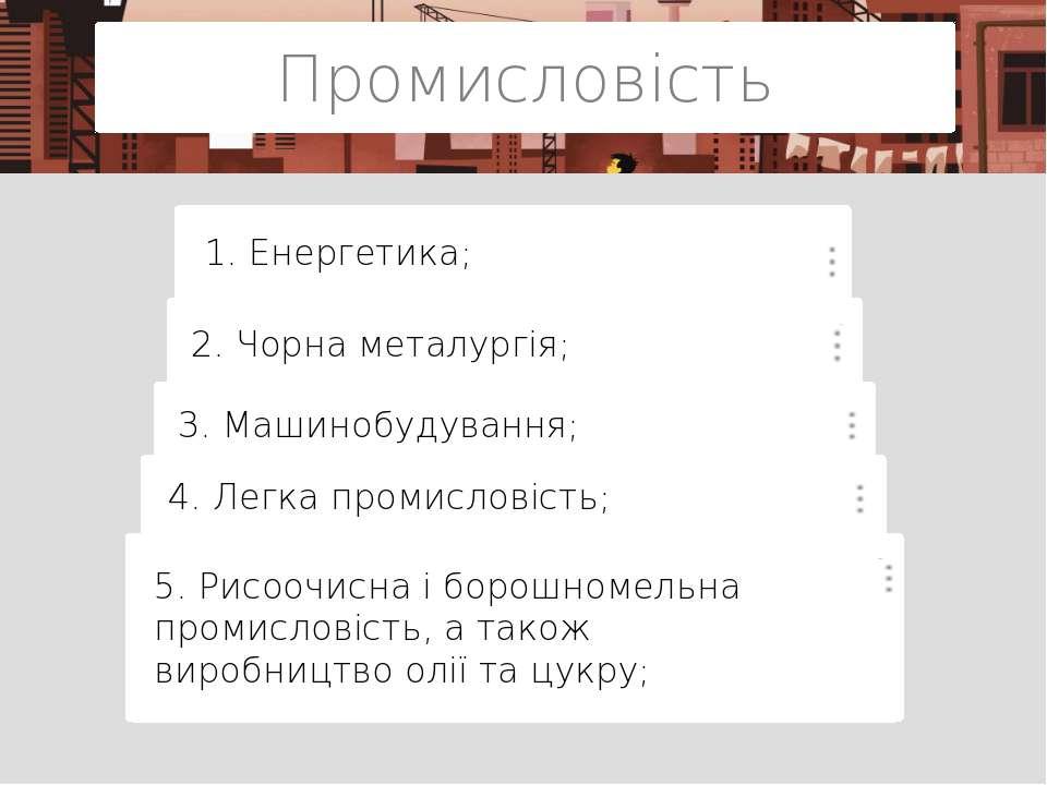 Сільське господарсво Особливості сільського господарства: 1. 1-е місце за різ...