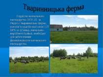 Гордістю навчального господарства ПТУ-35 м. Овруч є тваринницька ферма, погол...