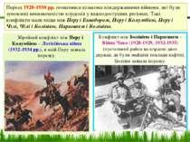 Збройний конфлікт між Перу і Колумбією – Летісійська війна (1932-1934 рр.), в...