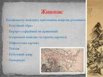Китайському живопису притаманна жанрова різноманітність : Релігійний образ По...