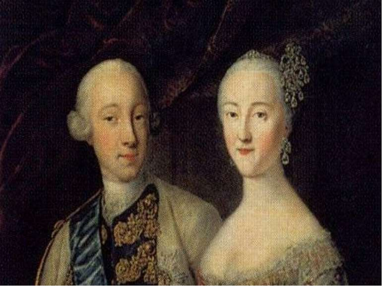 Правління В 1762 Петро III став імператором. Через 6 місяців його вбили внасл...