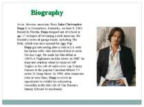 Вiography Actor, director, musician. Born John Christopher Depp II in Owensbo...