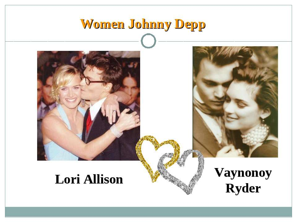 Women Johnny Depp Lori Allison Vaynonoy Ryder