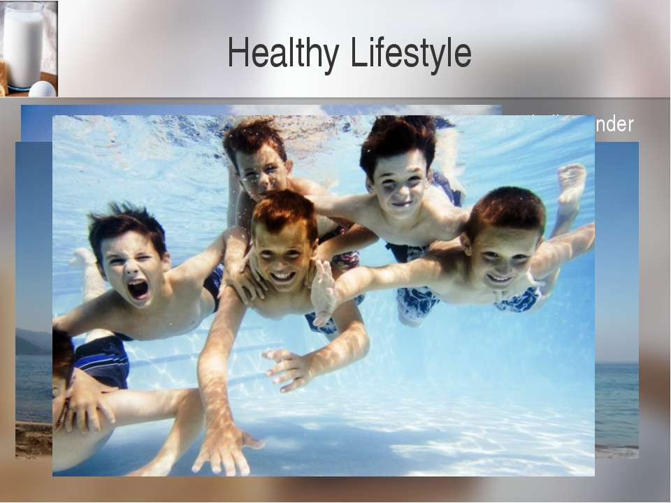 Healthy Lifestyle Nowadays our life is getting more and more tense. People li...