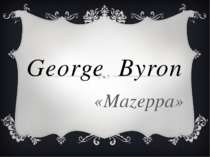 """George Byron"""