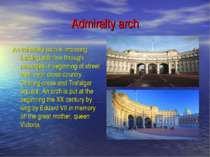 Admiralty arch An admiralty arch is imposing building with five through passa...