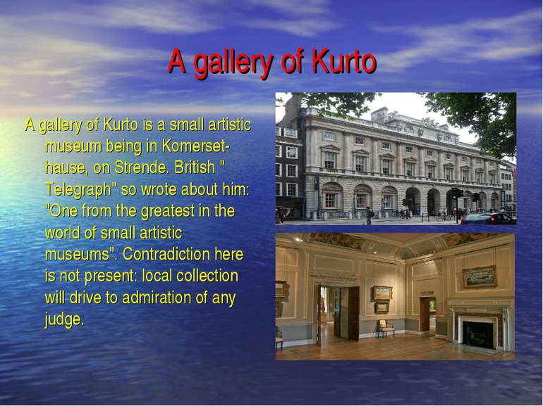 A gallery of Kurto A gallery of Kurto is a small artistic museum being in Kom...