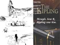 Mowgli, how R. Kipling saw him.