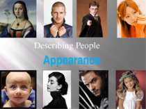 """Describing People"""