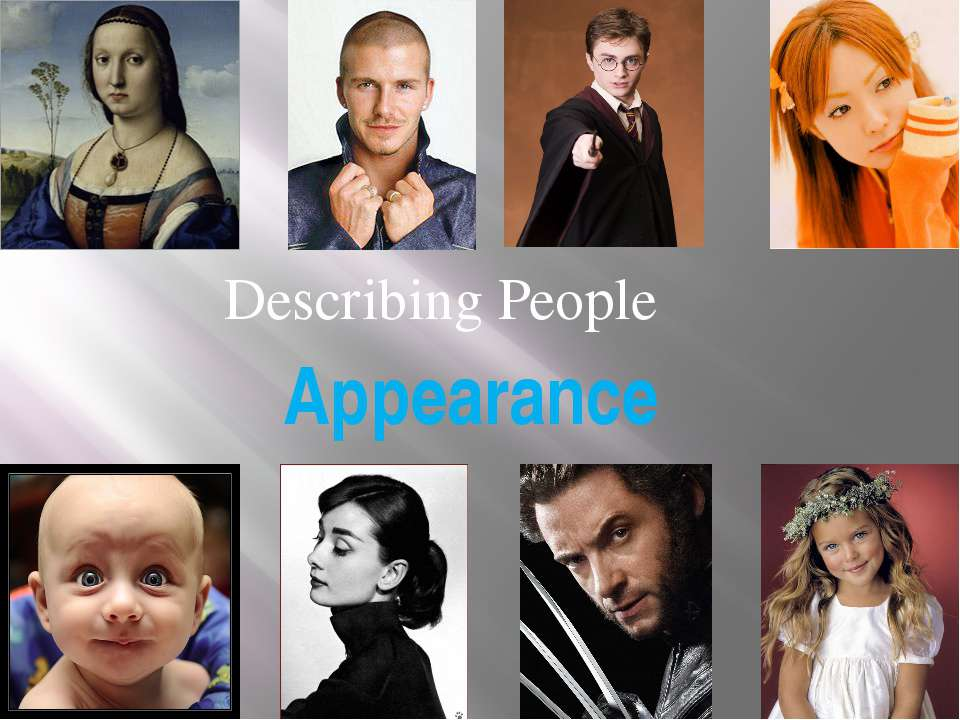 Appearance Describing People