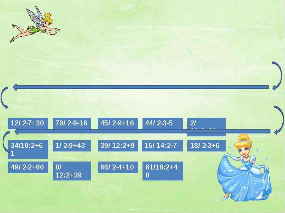 12/ 2*7+30 34/10:2+61 1/ 2*9+43 49/ 2*2+66 0/ 12:2+39 66/ 2*4+10 61/18:2+40 3...