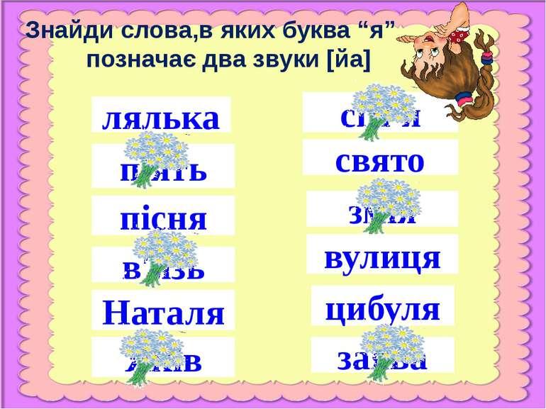 Яків лялька пісня в′язь Наталя п′ять сім′я свято змія вулиця цибуля заява Зна...