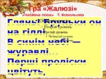 Гра «Жалюзі» «Чарівна пора» Т. Корольова Администратор: