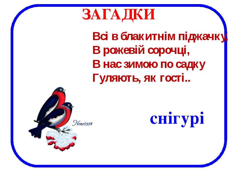 снігурі Всі в блакитнім піджачку, В рожевій сорочці, В нас зимою по садку Гул...