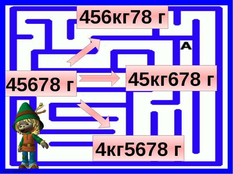 45678 г 456кг78 г 4кг5678 г 45кг678 г