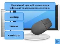 монітор мишка клавіатура Допоміжний пристрій для введення інформації та керув...
