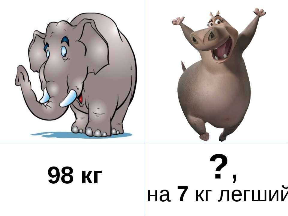 98 кг ?, на 7 кг легший