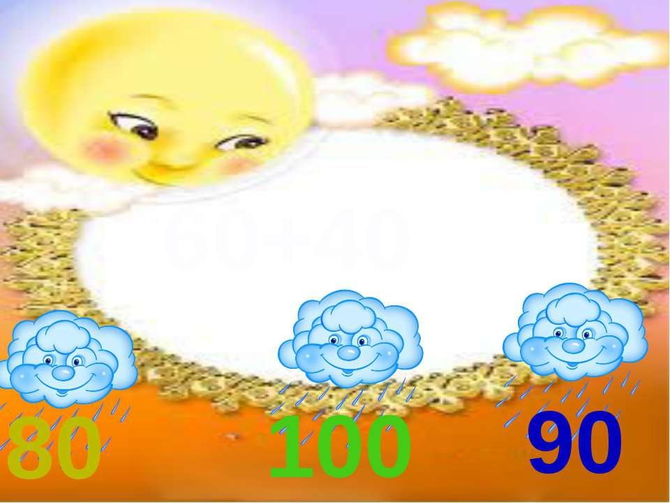 60+40 80 100 90