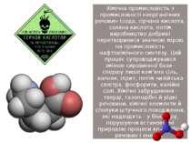 Хімічна промисловість з промисловості неорганічних речовин (сода, сірчана кис...