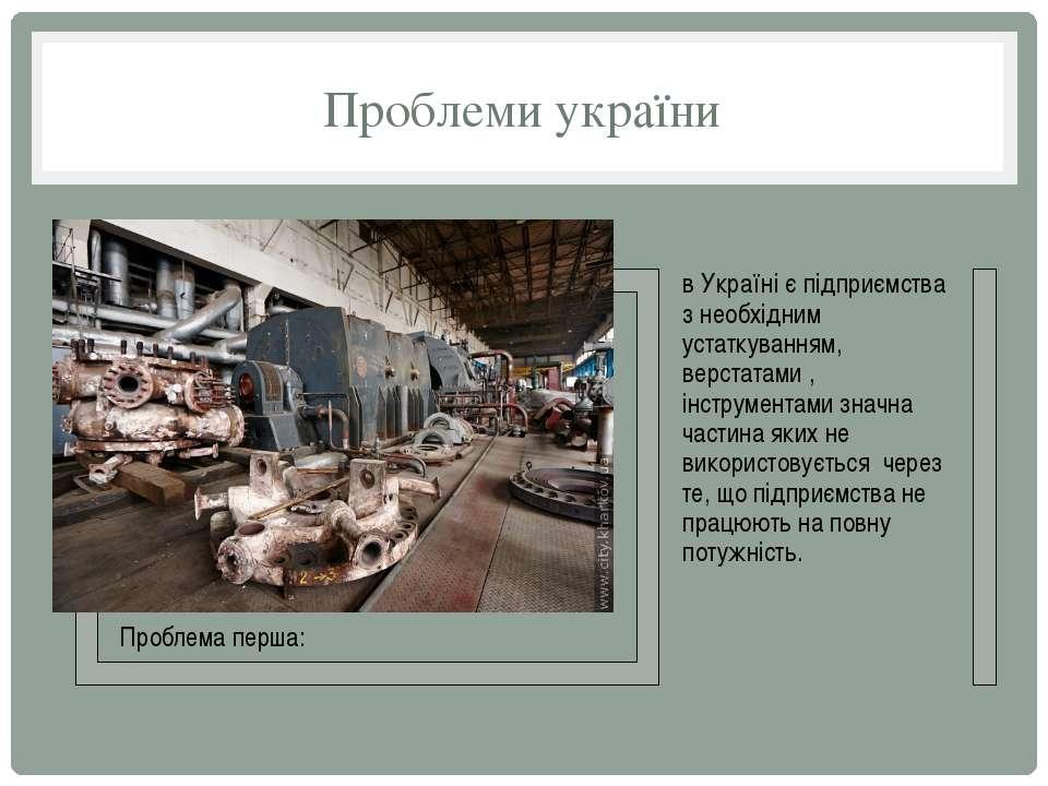 Проблеми україни