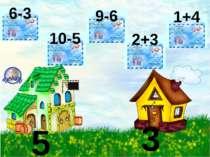 5 3 6-3 10-5 9-6 2+3 1+4