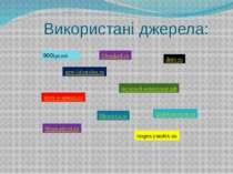 Використані джерела: 900igr.net new-lifestyles.ru filesaked.ru молодой-коммун...