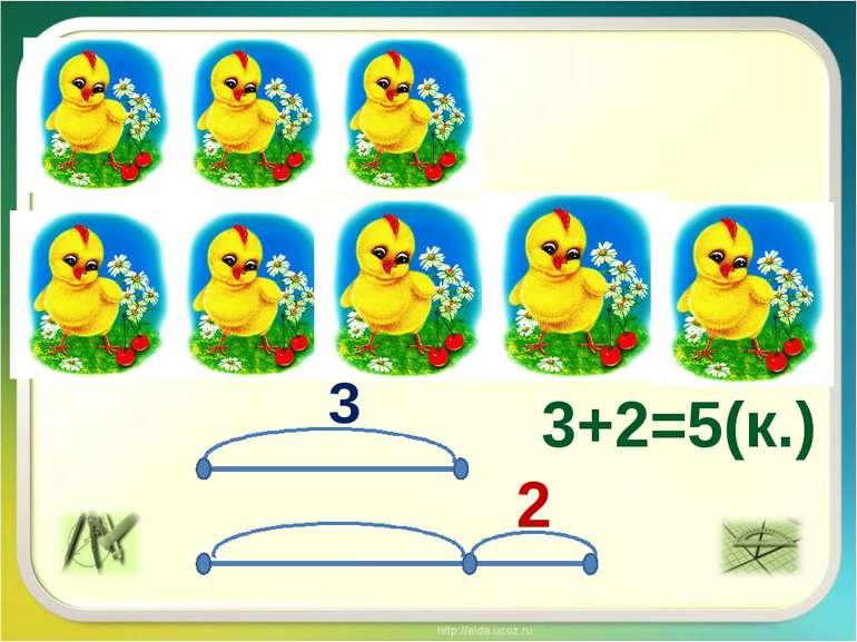 3 2 3+2=5(к.)