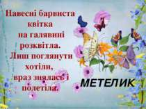 Навесні барвиста квітка на галявині розквітла. Лиш поглянути хотіли, враз зня...