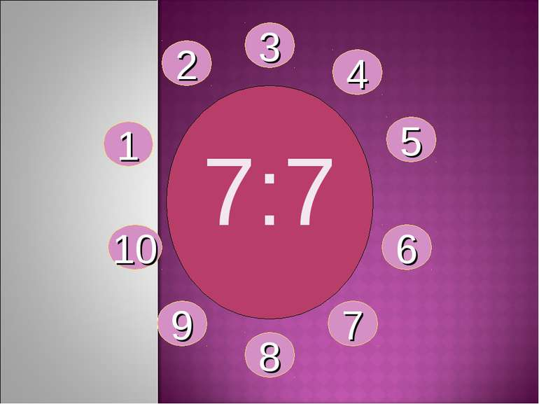7:7 1 2 3 4 5 6 7 8 9 10